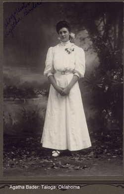 Agatha Ida <i>Bader</i> Bader