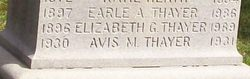 Avis M. Thayer