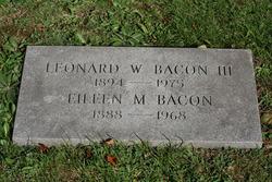 Leonard Woolsey Bacon, III