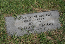 Esther Louise <i>Oleson</i> Bacon