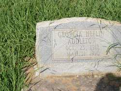 Georgia <i>Heflin</i> Addleton