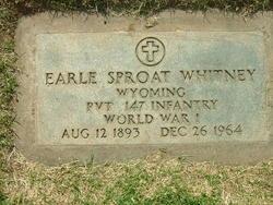 Earle Sproat Whitney