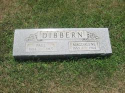 Magdalena <i>Fabritz</i> Dibbern