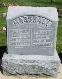 Martha A. <i>Horne</i> Marshall