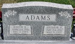 Arthur V Adams