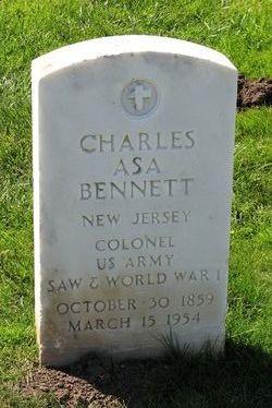 Col Charles Asa Bennett