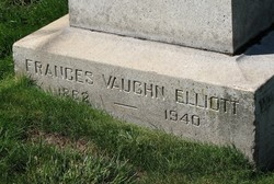 Frances Vaughan Elliott