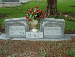 Mabel Florence <i>Facundus</i> Impson