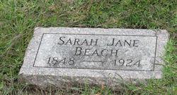 Sarah Jane <i>Bonham</i> Beach