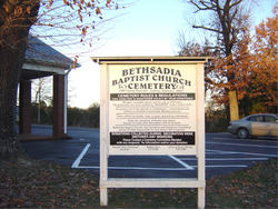 Bethsadia Baptist Church Cemetery