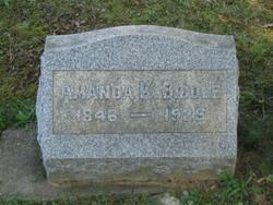 Amanda K Biddle