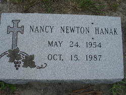 Nancy <i>Newton</i> Hanak