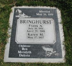 Frank A Franko Bringhurst