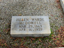 Margaret Helen Helen <i>Warde</i> McDowell