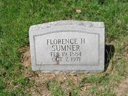 Florence H Sumner