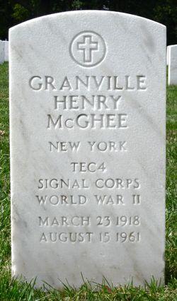 Granville Henry Stick McGhee