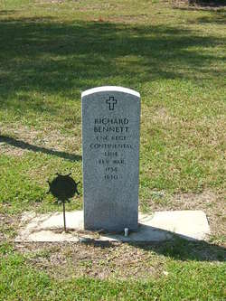 Richard Bennett, Revolutionary Soldier