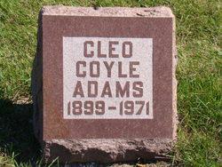 Cleo <i>Coyle</i> Adams