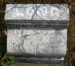 Jane <i>York</i> Long