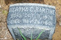 Bertha E Bartine