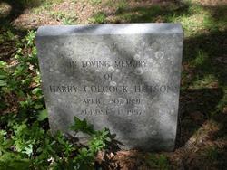 Henry Colcock Harry Hutson