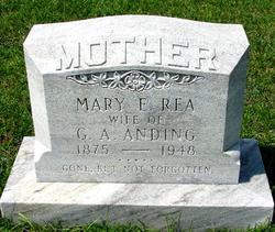 Mary Elizabeth <i>Rea</i> Anding