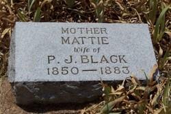 Martha E Mattie <i>Grigsby</i> Black