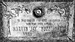 Martin Jay Buzz Tapp