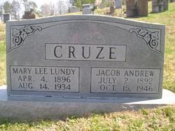 Mary Lee <i>Lundy</i> Cruze