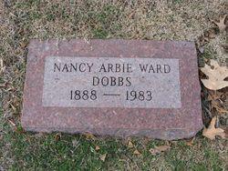 Nancy Arbie Dobbies <i>Ward</i> Dobbs