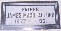 James Maxie Alford