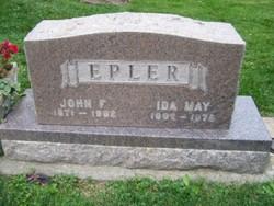 Ida May <i>Brazelton</i> Epler