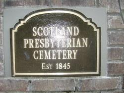 Scotland Presbyterian Cemetery