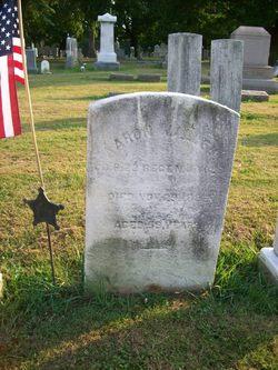 Pvt Aaron W. Allen