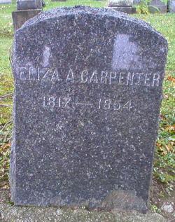Eliza Ann <i>Fargo</i> Carpenter