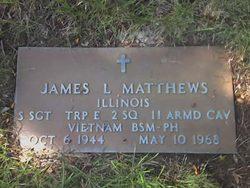 Sgt James Leonard Matthews