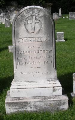 Cornelia <i>Johnson</i> Dutrow