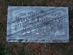 Mary <i>Bourke</i> Godfrey