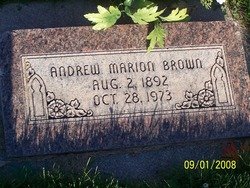 Andrew Marion Brown