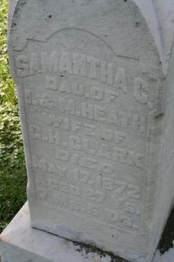 Samantha C. <i>Heath</i> Clark