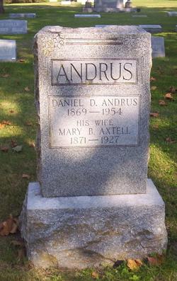 Mary Belle Mamie <i>Axtell</i> Andrus