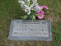 Jennie <i>Johnson</i> Bellows
