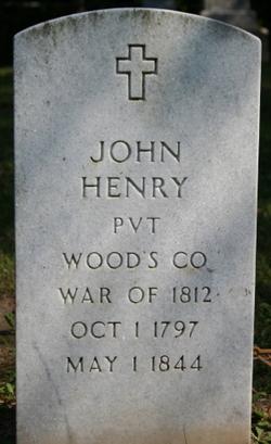 Pvt John Henry