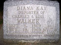 Infant Diana Kay Walker