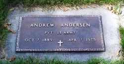 Pvt Andrew Andersen