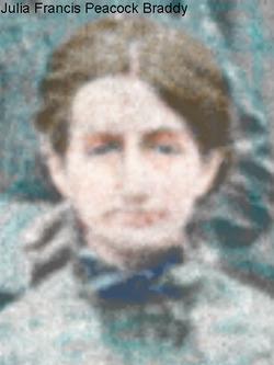 Julia Frances <i>Peacock</i> Braddy