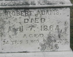 Robert Adams, Sr