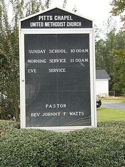 Pitts Chapel United Methodist Church Cemetery