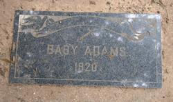 (Infant) Adams