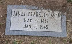 James Franklin Agee